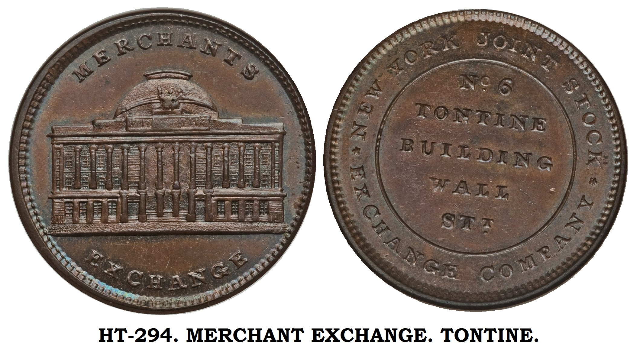 HT-294. MERCHANT EXCHANGE. TONTINE