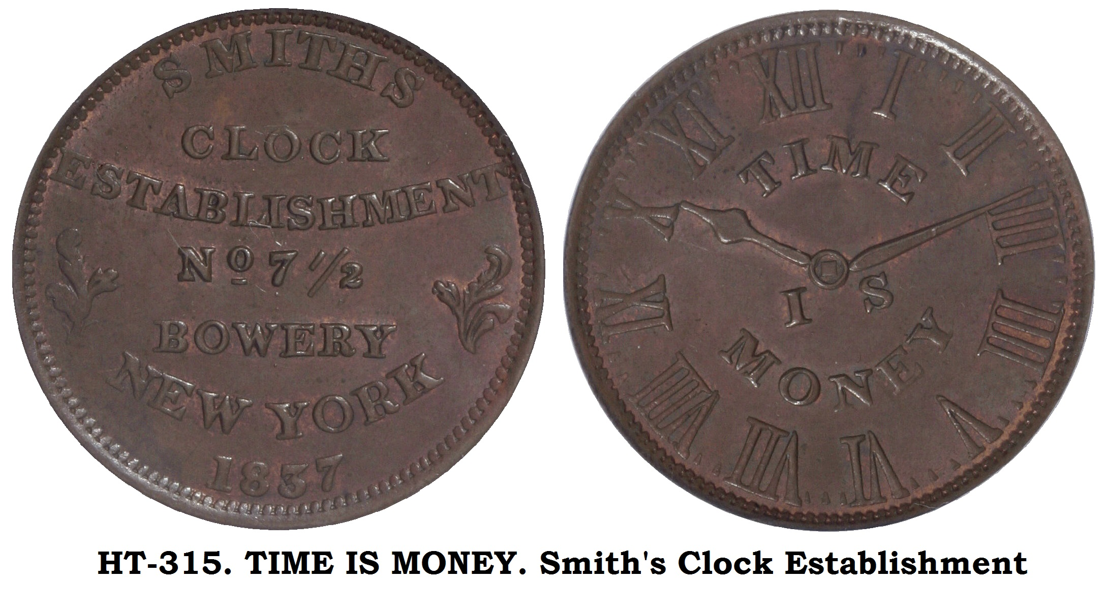 HT-315 Smiths Clock Establishment
