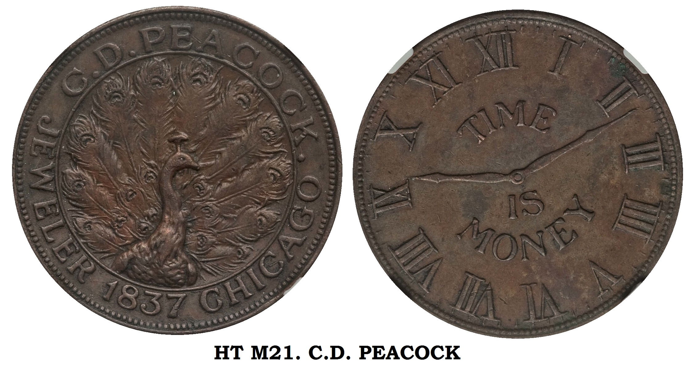 HT-M21 C.D. PEACOCK JEWELER CHICAGO