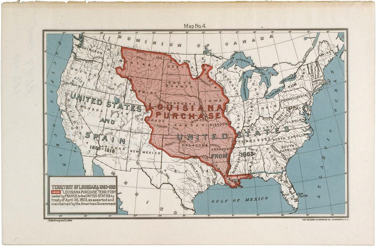 an analysis of the louisiana purchase and its impact in america The louisiana purchase of 1803 brought into the united states about 828,000,000 square miles of territory from france, thereby doubling the size of the young republic the treaty was dated april 30 and signed on may 2.